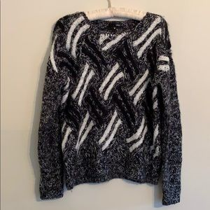 Aqua sweater. Comfortable. Worn only three times.